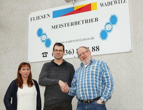 Frank Müller hat Meisterbetrieb Fliesen Wadewitz übernommen